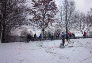 Training im Schnee